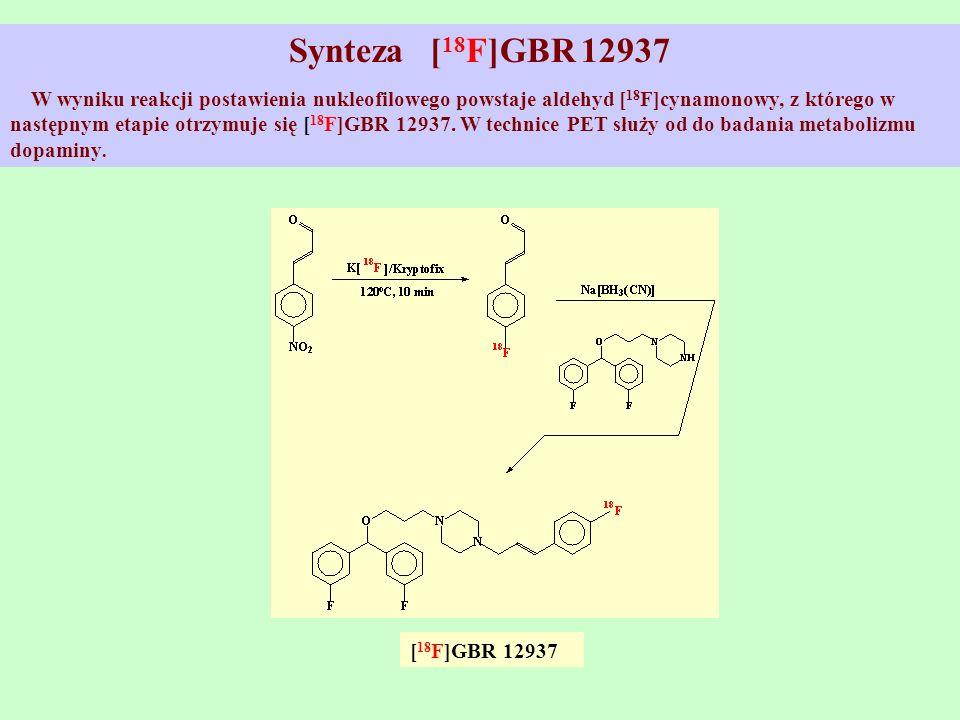 Synteza [18F]GBR 12937